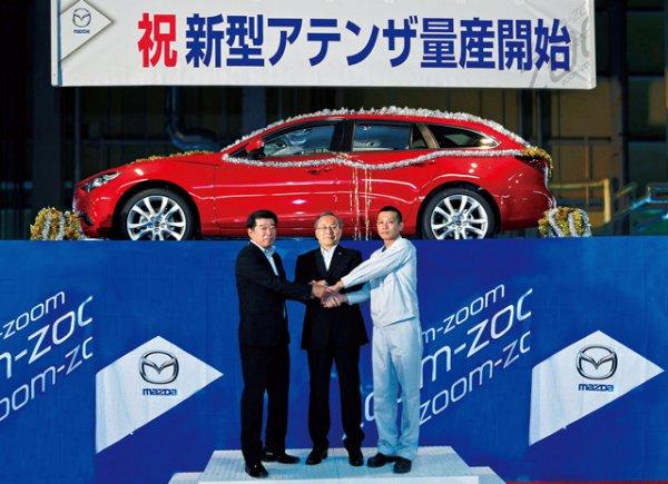 Первая фотография нового универсала Mazda6