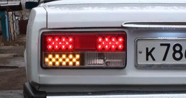 Тюнинг фар на автомобиле ваз 2107