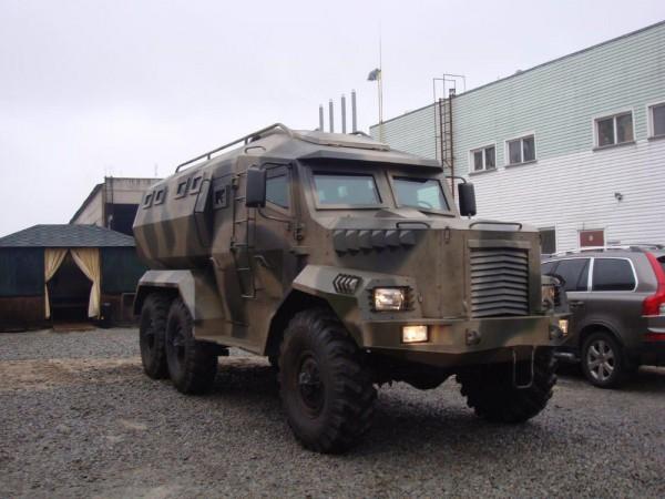 Новый украинский броневик