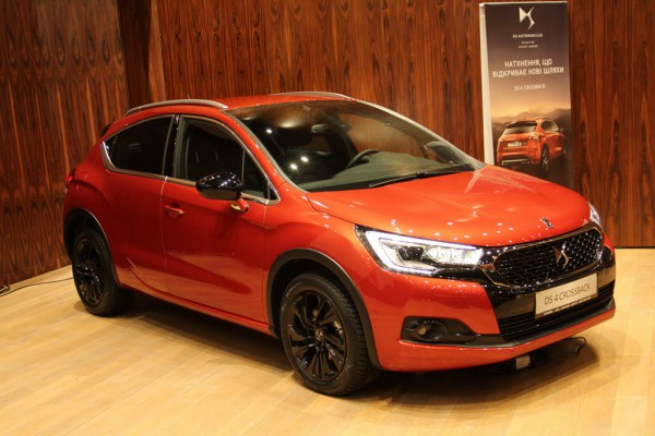 DS4 Crossback в Украине