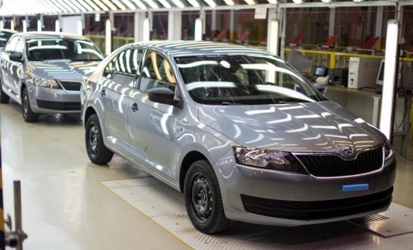 Первые Skoda Rapid сошли с конвейера завода Еврокар