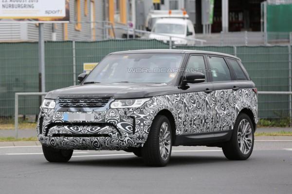 Range Rover Sport на тестах