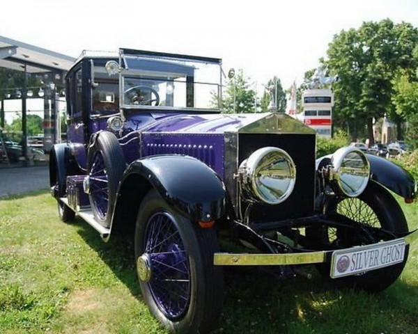 Rolls-Royce Ghost последнего императора России