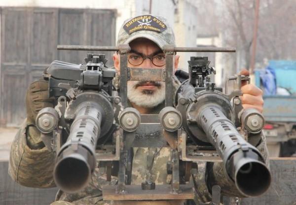 Пулеметы готовы к бою