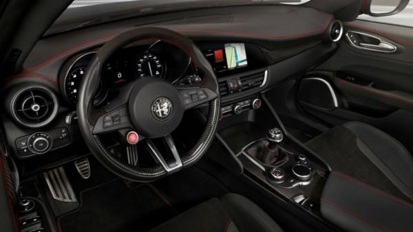 Салон Alfa Romeo Giulia