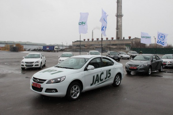 JAC J5 украинского производства