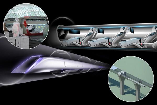 Один из проектов Hyperloop