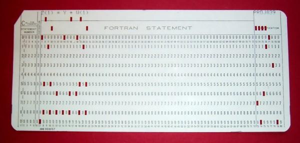 Программа на Фортране