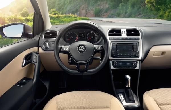 Торпедо нового VW Polo