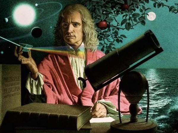 Ньютон открыл закон Всемирного тяготения