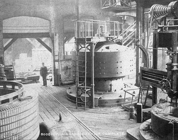 Первая гидроэлектростанция