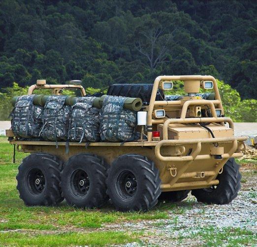 Этот беспилотный БТР может перевозить раненых