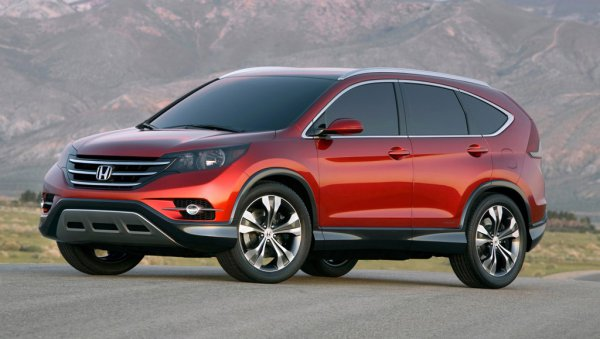 Новый Honda CR-V представят в ноябре