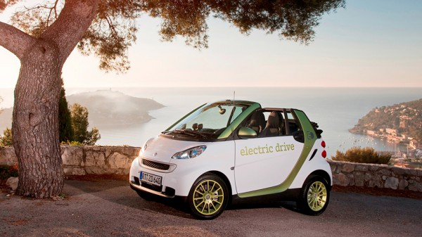 Smart ForTwo Electric Drive признан самым экологичным
