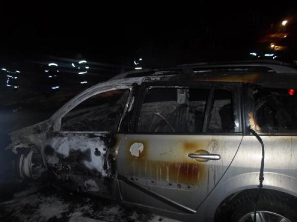 Последствия пожара в Ровно