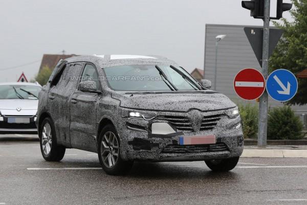 Renault Koleos на тестах
