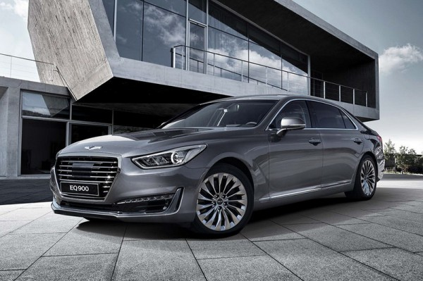 Компания Hyundai представила свою самую роскошную модель