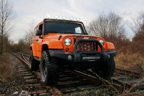Jeep Wrangler с доработками Geiger Cars