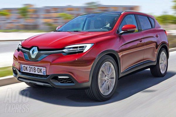 Неофициальная иллюстрация нового кроссовера Renault