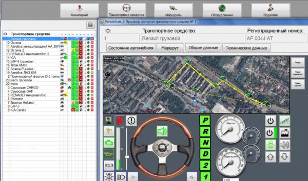 Система мониторинга дороги нового беспилотника