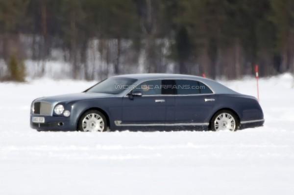 Компания Bentley вывела на тесты длиннобазный Mulsanne