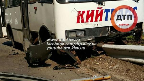 Последствия аварии в Киеве