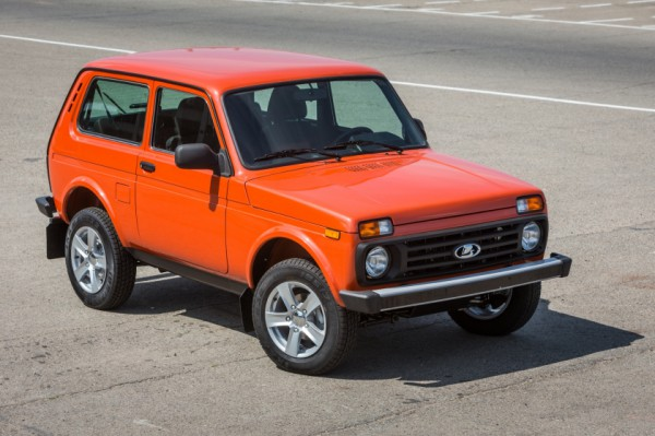 Lada 4×4 Orange Edition