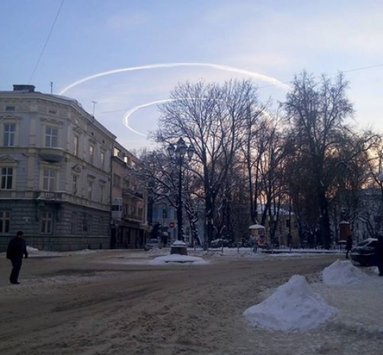 НЛО или Божий знак: Раскрыта причина странных кругов в небе над Прикарпатьем