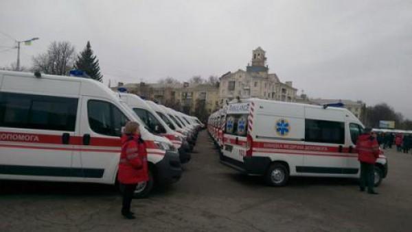 60 Citroen Jumper будут спасать людей на Донбассе