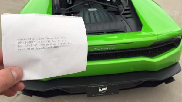 Lamborghini Huracan установил рекорд