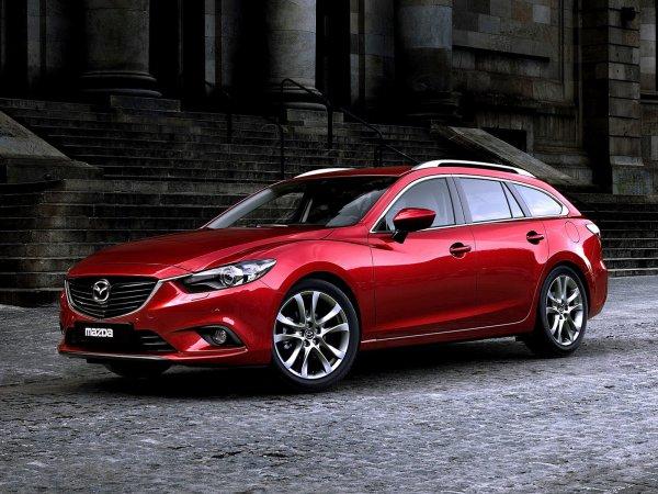 Новые универсалы Mazda6 уже поставили на конвейер