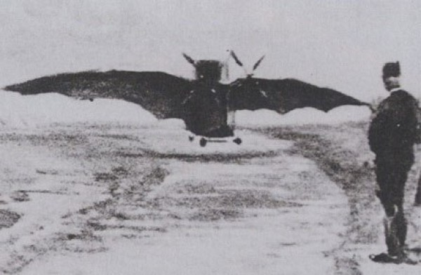 Первый полет аппарата Адера