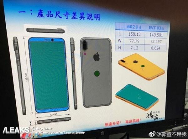 Новый iPhone подозрительно похож на Galaxy S8