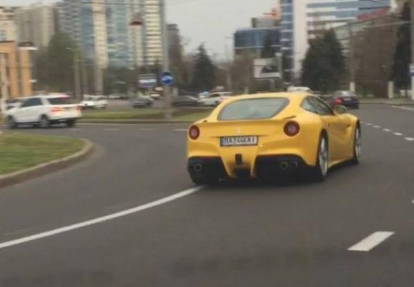 Ferrari F12 Berlinetta в Одессе