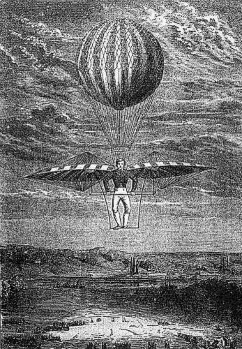 Полет орнитоптера