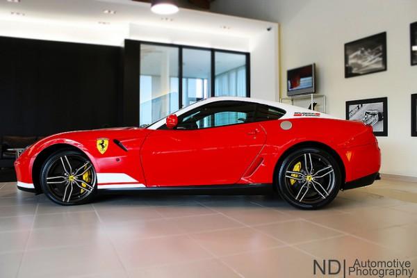 6) Ferrari 599 GTB 60 F1. Цена — 3 500 000 гривен
