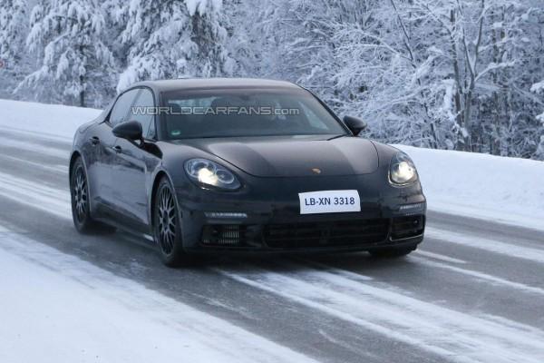 Новую Porsche Panamera вывели на тесты