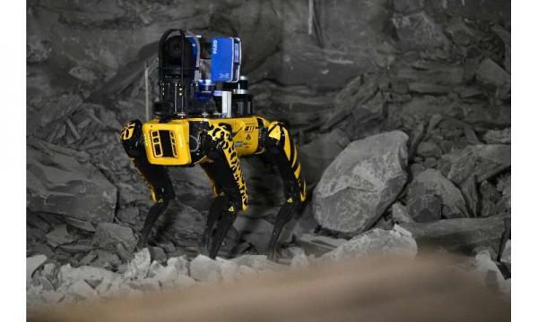 Робопес будет обследовать подземное хранилище