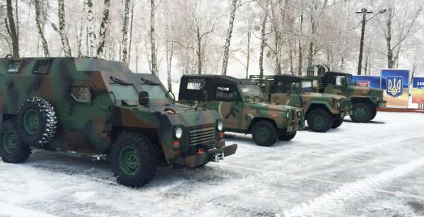 Новый Барс для украинских военных