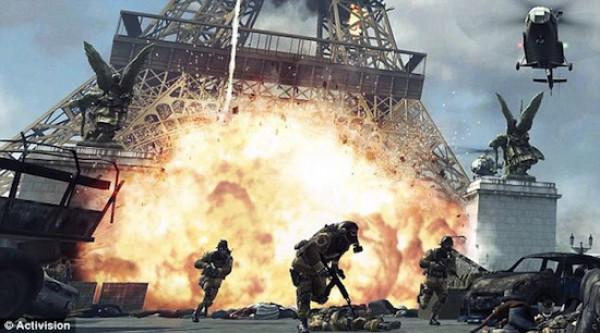 Кадр из игры Battlefield 3