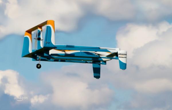 Новый беспилотник Amazon