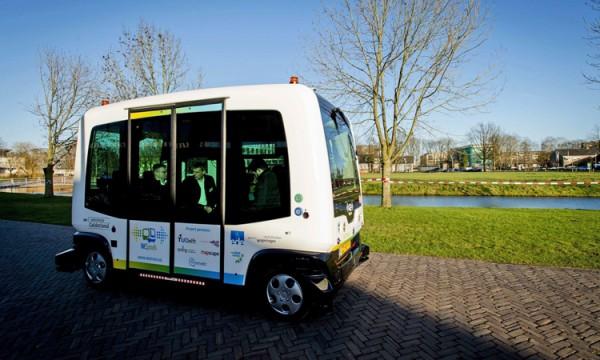 Беспилотные автобусы в Финляндии