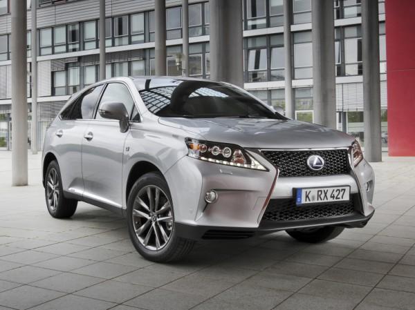 Lexus RX ждут обновления