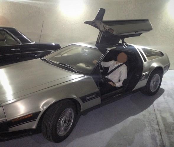Уникальный для Украины DeLorean DMC-12