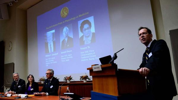 Объявлены лауреаты Нобелевской премии 2015 года