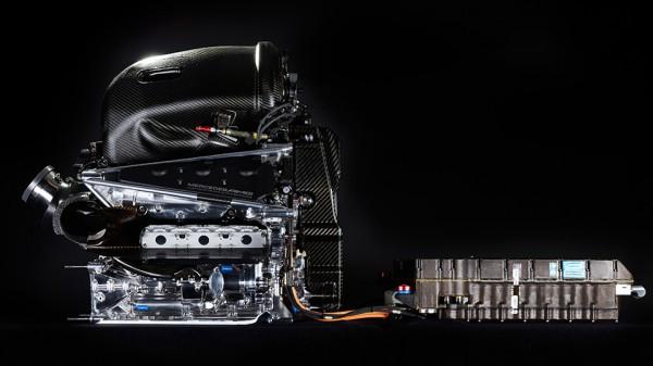 Гибридная силовая установка болида Формулы-1 Mercedes AMG Petronas W07 Hybrid