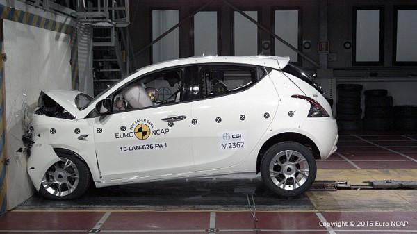 На тестах разбили Lancia Ypsilon