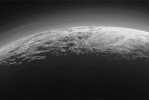 Облака на Плутоне