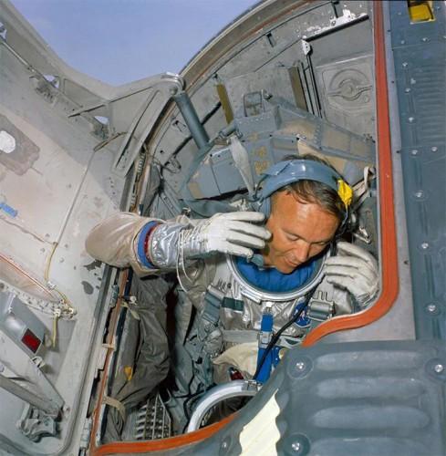 Майк Коллинз в 1966 году, подготовка к миссии Gemini