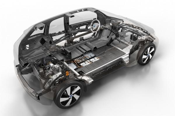 Серийный электромобиль BMW i3 в «разрезе»